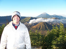 Paul at Mt Bromo