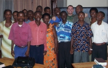 Burundi students in school of leadership.