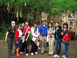 Students from mainland China whom Paul taught English for a week at Disney World.