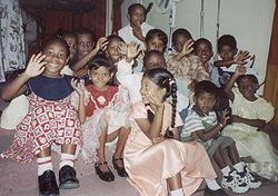 Children from Guyana where Paul spoke.