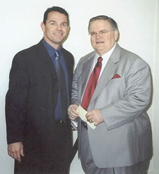 Paul with Pastor John Hagee in San Antonio, Texas