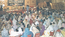 Faisalabad, Pakistan where Paul spoke after 9/11 and addressed a very large crowd.