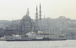 Turkey�s Blue Mosque in Istanbul where Paul spoke and ministered.