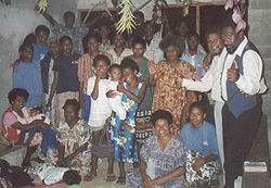 A newly formed congregation that launched a church in the island of Espiritu Santo, Vanuatu after being inspired by Paul's ministry.